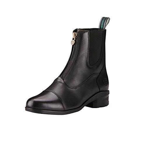 Ariat Damen-Stiefelette Heritage IV Zip Paddock 41 Schwarz Jodhpur Und Paddock Boots