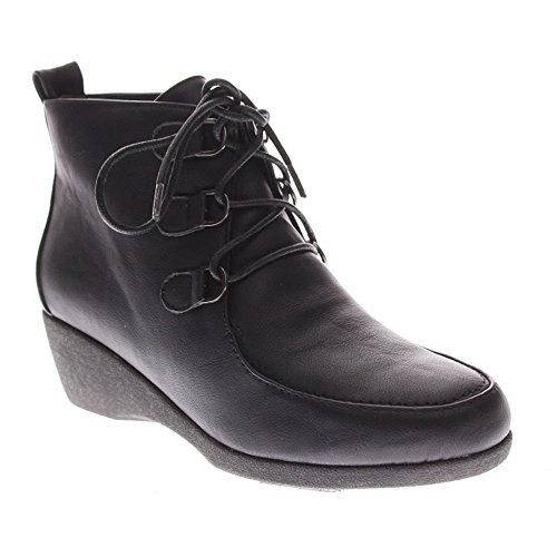 Spring Step Elayna Synthétique Bottte Chukka Black