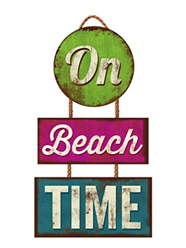 Highland Graphics Auf Schild Beach Time Trio # 30-00061 -