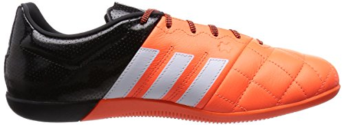 adidas Ace15.3 In, Chaussures de football homme Orange - Orange (Solar Orange/Ftwr White/Core Black)