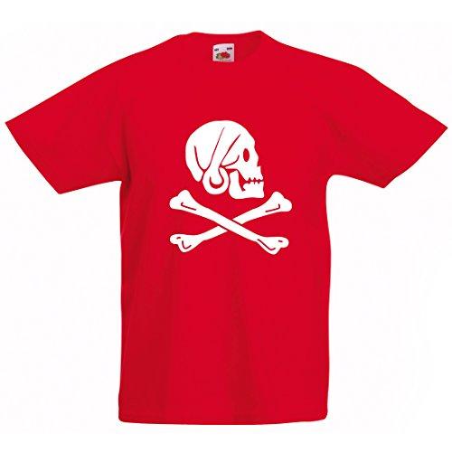 Kids Totenkopf Piraten T-shirt
