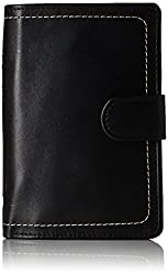 (CERTIFIED REFURBISHED) Hidesign Leather Black Mens Wallet (258-PH (RFID)-RANCH-Black)