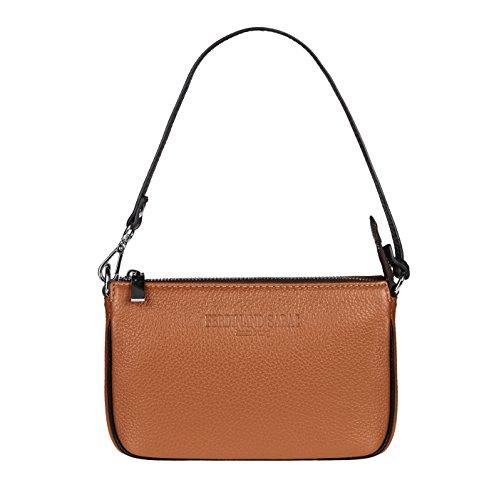 FERDINAND SABAC Leder Handtasche Umhängetasche Schultertasche