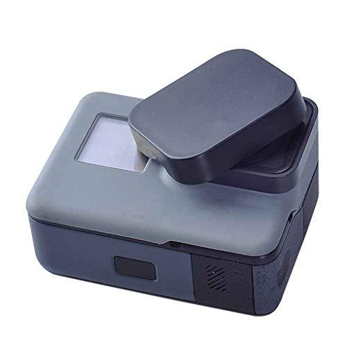 Uzinb Kamera-Objektiv-Schutzkappen-Deckel aus Kunststoff Objektivdeckel für GoPro 5 Kamera Schwarz