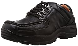 Action Mens Black Trekking and Hiking Boots - 7 UK (DCE-122)