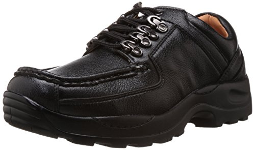 Action Men's Black Trekking and Hiking Boots - 9 UK (DCE-122)