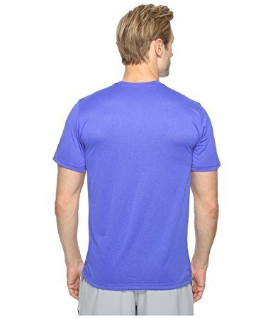 Move Short Sleeve Tee (Nike Men's Dry Athletic Training T-Shirt (2XL, 452 Paramount Blue))