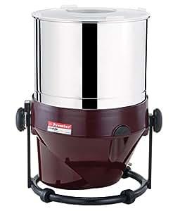 Premier 230 V Stainless Steel Table Top Wet Grinder, 2 L (Red)
