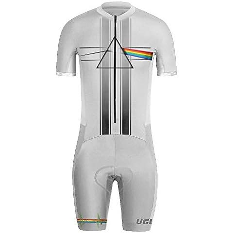 Uglyfrog MUEN19 Nuovi Uomini Traspirante Primavera Autunno A Maniche Corta Ciclismo Body Skinsuit All'aperto Sportswear Abbigliamento Triathlon