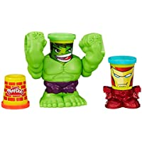 Play-Doh Marvel Smashdown Can-Heads Featuring Hulk Figure - p
