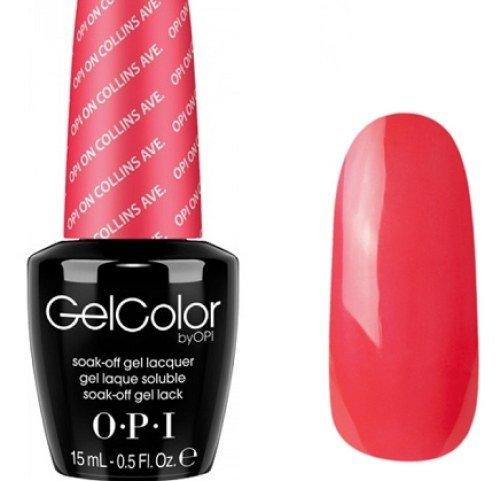 Vernis à ongles LED/UV OPI Gel Couleur 15ML - OPI ON COLLINS AVE. - 100% gel authenic - livraison gratuite