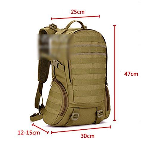 YAAGLE 35 L wasserdicht Rucksack Reisetasche Gepäck militärisch outdoor Schultertasche Schüler Schultasche Sporttasche Tarnung 4