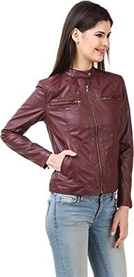 VEEBA Ladies Jacket Maroon