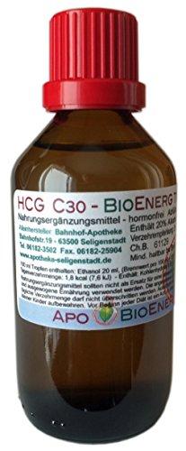 HCG BioEnerg Tropfen - 50 ml - preiswerte Kurpackung - hormonfrei - aus deutscher Traditionsapotheke