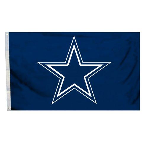 Fremont Die NFL Flagge mit Ösen, 3 x 152 cm, Polyester, Dallas Cowboys, 3