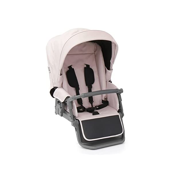BabyStyle Prestige 2 Fabric Pack - Ballerina Babystyle Multi position, Lie-Flat Seat Unit Ventilated Pram Body Compatible with any BabyStyle Prestige 2 Chassis (Sold separately) 2