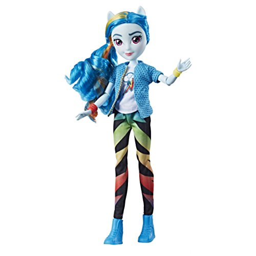 My little Pony e0670es0 Equestria Girls Rainbow Dash Classic Style Puppe