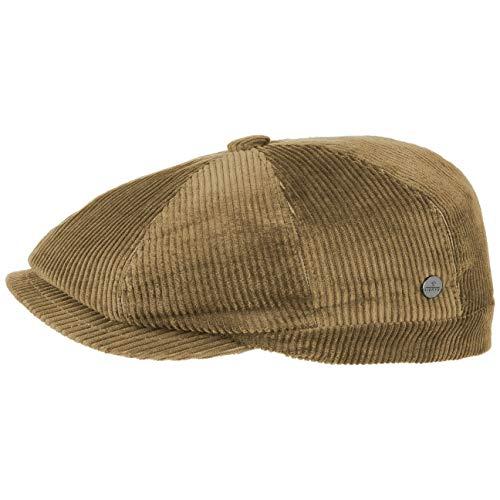 Lierys 8 Panel Cord Flatcap Hombre | Gorra Plana algodón