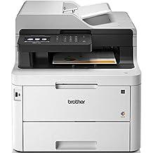 Brother MFC-L3750CDW Imprimante multifonctions 4 en 1 Laser |couleur | silencieuse 47db | Mémoire 512Mo|Wi-FI | 24ppm | impression recto-verso | Inclus 1 000 pages de Toner