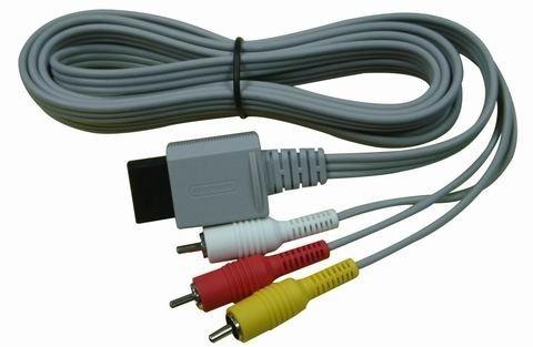 Original Nintendo Wii Audio Video AV Cable Cord Genuine