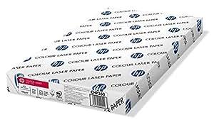 HP Rame de papier pour imprimante laser couleur A3, 100 g/m²