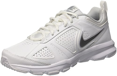 Nike Wmns T-Lite Xi, Scarpe Sportive Indoor Donna, Bianco (White/Metallic Silver/Pure Platinum/Black), 38.5 EU