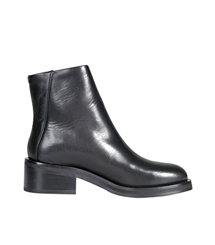 Royal RepubliQ Damen Schuhe District Zip Boot in Schwarz Black