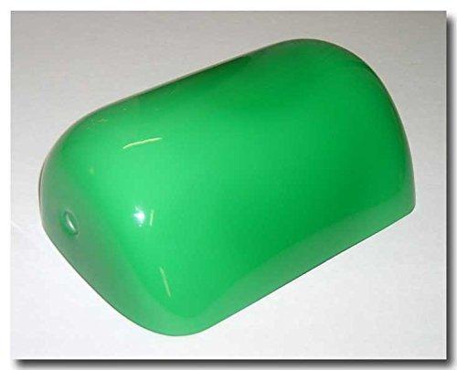 Grüne Glas-schirm-ersatz (Glas Lampenschirm Notebook-Ministerium grün Innenraum Opaline weiß)