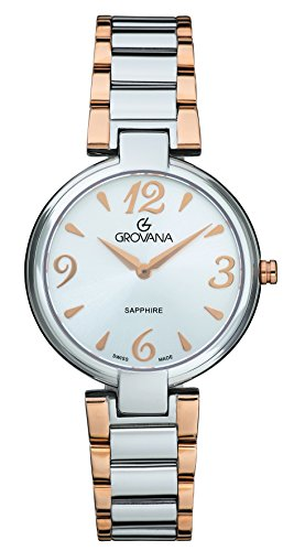 GROVANA Womens Analogue Classic Quartz Watch with Stainless Steel Strap 4556.1152000000002