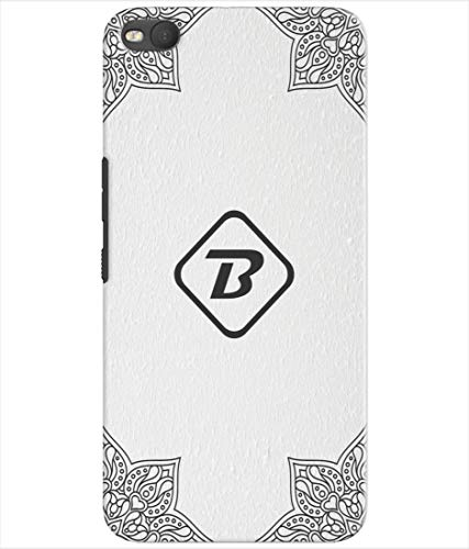 Inktree® Printed Designer Silicon Back Cover for HTC One X9 - Alphabet B