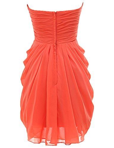 Bridal_Mall - Robe - Sans Manche - Femme - Wassermelone