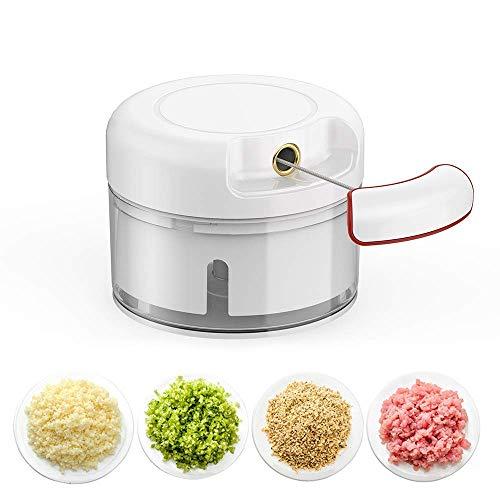 BAIYI Mini Edelstahl Knoblauchpresse, Knoblauch, Multifunktionshackmaschine, Knoblauch, Küchenutensilien