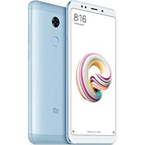 "Xiaomi Redmi 5 - Smartphone 5.7"" HD+ (14 nm Snapdragon octa-core, 16 GB, 12 MP, Android 7.0) color blue [Spanish version]"