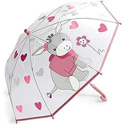 Sterntaler Parapluie, Emmi l'Âne Girl, Âge : Dès 3 Ans, Rose