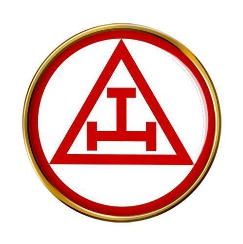 'Triple Tau Kreuz' Revers-anstecknadel