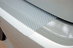 WGS Ladekantenschutz Lackschutzfolie Schutzfolie Lackschutz Carbon Silber 3D (1301-102)