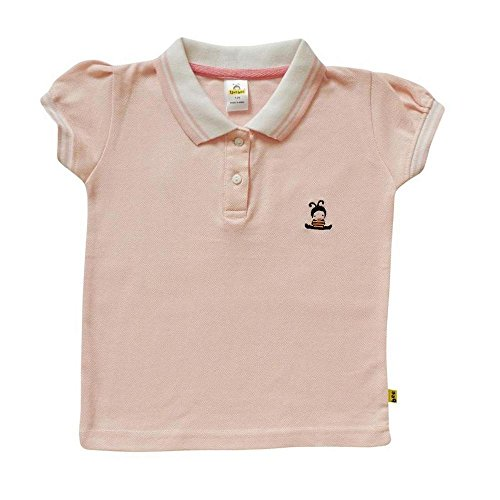 Tiny Bee Apparels Girl's Cotton Polo Tees(2-3years)