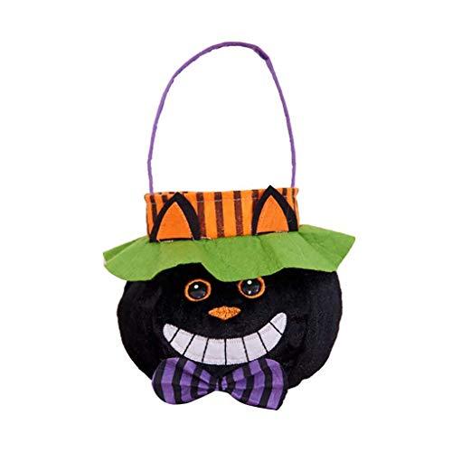 Kinder Schöne Halloween-Dekor-Kind-Süßigkeit Sack Halloween-Taschen-Tuch Kinder Trick or Treat Taschen Regard
