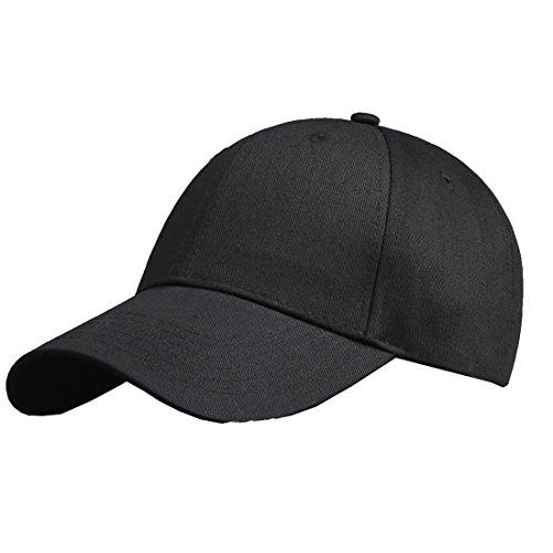 Baumwolle Baseball Cap, Basecap - KeepSa Unisex Baseball Kappen, Baseball Mützen für Draussen, Sport oder auf Reisen - Reine Farbe Baseboard Baseballkappe Kappe, Mütze