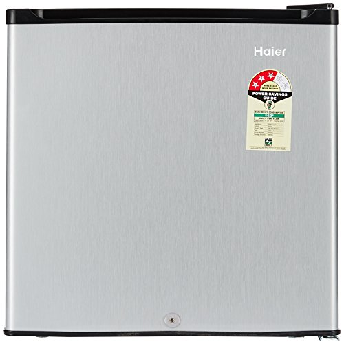 Haier 52L 3 Star Direct Cool Single Door Refrigerator (HR-62VS, Silver)