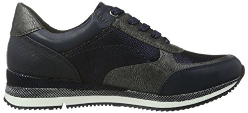 Marco Tozzi Damen 23710 Sneakers Blau (NAVY ANTIC COM 820)