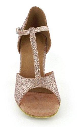 TDA - Ballroom donna Gold Glitter