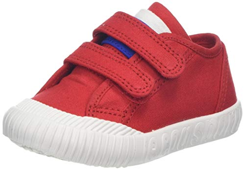 Le Coq Sportif Unisex Baby Nationale Inf Pure Red Sneaker, Rot, 23 EU - Sportiva Rot Schuhe