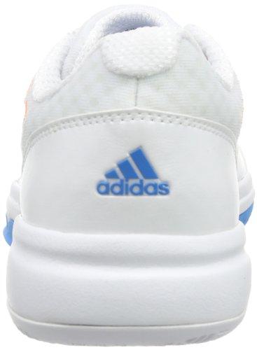 adidas Galaxy Allegra III, Baskets de tennis femme Blanc - Weiß (Running White FTW/Glow Orange S14/Solar Blue S14)
