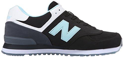 New Balance ML 574 SAB Noir Bleu Noir