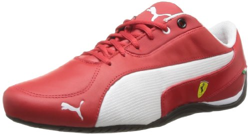 Puma Drift Cat 5 SF 304653 Herren Sneaker, - Rouge/Blanc (01), 46 (Ferrari Cat Drift Puma)