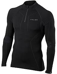 Falke Unterwäsche Wool Tech Zip Shirt Comfort sous-Vêtements Homme