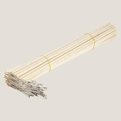 Laternenstäbe aus Holz, 60 cm, 50 Stk. - Sankt Martin Holzstab Laternenstab von Vertrieb durch frankengmbh - Du und dein Garten