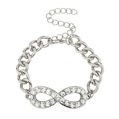 accesorios-lux-de-simbolo-de-infinito-y-mas-alla-de-la-declaracion-de-la-pulsera-del-acoplamiento-de