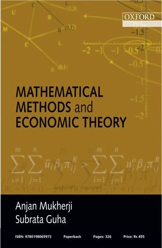 Mathematical Methods and Economic Theory